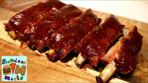 slow cooked oven ribs recipe youtube