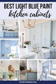 light blue cabinets kitchen best kitchen cabinet colors for your kitchen reno