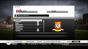 how to play fifa 12 2v2 games