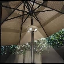 Patio Umbrella Lighting Outdoor Patio Umbrella Lighting Ideas Home Optimized