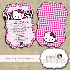 Hello Kitty Invitation Cards Slumber Party Invitations Ideas Party Dress Slumber Party