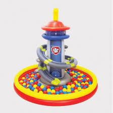 target paw patrol lookout black friday 20 off new paw patrol giant inflatable tower ball pit target