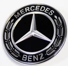 mercedes black car truck emblems ebay