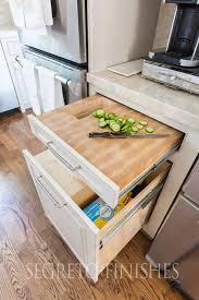 Kitchen Drawer Cabinets Hidden Trash Bag Storage Via Atticmag I Have Tried To Find The