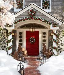 Red Door Home Decor 56 Amazing Front Porch Christmas Decorating Ideas Front Porches