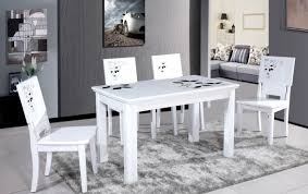 oval white dining room table courtagerivegauche com