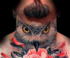 imagenes tatuajes cuello tatuajes en el cuello