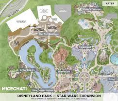 Google Maps Orlando Fl by Star Wars Land Map The Layout Of Disneyland U0027s New Galaxy