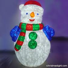 Outdoor Lighted Snowman Led Snowman Ichristmaslight