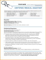 Resume Sample For Medical Assistant by Medical Assistant Duties For Resume Free Resume Example And