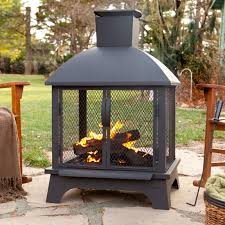 Outdoor Patio Fireplaces Landmann Redford Outdoor Fireplace Hayneedle
