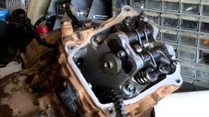 can am outlander renegade 500 650 800 motor assembly part 2 youtube