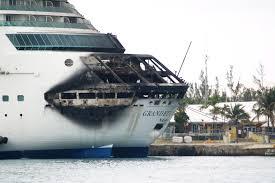 royalcaribbean fire breaks out aboard royal caribbean cruise ship