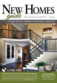 laurel view homes featured on the front cover of homes magazine