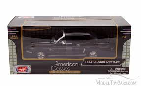 1964 Black Mustang 1964 1 2 Ford Mustang Black Showcasts 73273 1 24 Scale