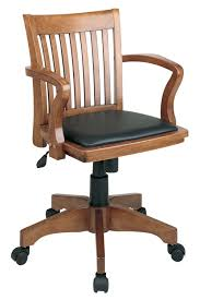 Antique Desk Chairs Excellent Antique Wooden Office Chair For Sale Full Image For