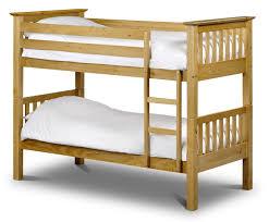 Solid Wood Bunk Beds Uk Trent Solid Pine Bunk Bed Oak Furniture Uk