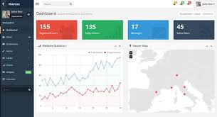 20 free u0026 premium bootstrap admin dashboard templates