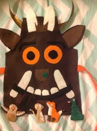Owl Halloween Costume Pattern Felt Gruffalo Costume With Mouse Fox Owl And Snake Finger