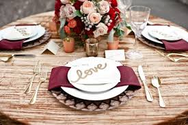 wedding table decor 30 burgundy and blush fall wedding ideas deer pearl flowers