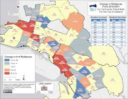 Crime Maps Oakland Crime Maps For 2011 By Police Beat U2013 Urban Strategies Council