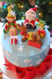 southern blue celebrations christmas cake ideas