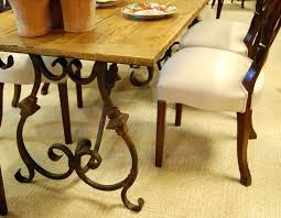 wood and iron dining room table wood iron dining table industrial dining furniture industrial dining