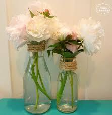 Mason Jar Vases Wedding Best 25 Milk Bottle Centerpiece Ideas On Pinterest Starbucks