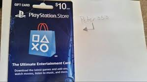 playstation gift card 10 free 10 playstation gift card gift cards listia auctions