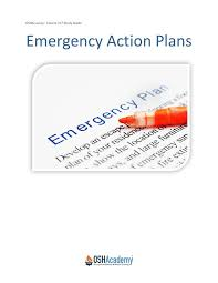 emergency action plan sample dan emergency action plan template