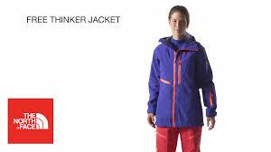 the north face women u0027s free thinker jacket youtube