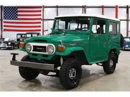 land cruiser toyota classic toyota land cruiser bj for sale on classiccars com