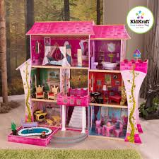 home design barbie dollhouse with pool home builders furniture
