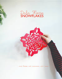 dala horse snowflakes moose snowflakes snowman snowflakes