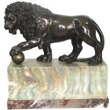 marble lions for sale solid marble statue of a medici lion for sale at 1stdibs