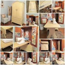 sewing armoire diy sewing cabinet