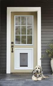 Exterior Pet Door Petsafe Panel Door Insert With A Built In Pet Door Rpa00 12510