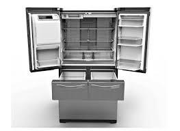 Samsung Cabinet Depth Refrigerator High Capacity Large Refrigerators Get More Family Friendly