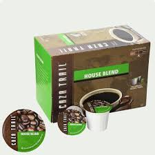 Blend K Cups Caza Trail House Blend Coffee Single Serve Cups K Cup Compatible