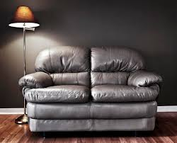 couch and lamp stock image image of armchair indoors 33251405