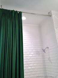 Shower Curtain Ring For Clawfoot Tub Best 25 Shower Rod Ideas On Pinterest Shower Storage Bathroom
