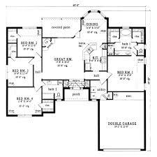 european style house plan 4 beds 2 baths 1914 sq ft plan 42 174
