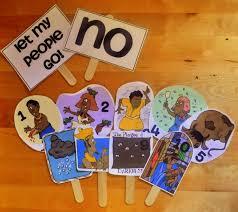 passover masks 10 plagues a homeschool parshas va eira few plagues