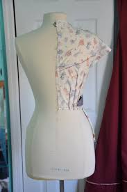 Draping On A Dress Form Making A Plaid Dress 1860s Part One U2013 Angela Clayton U0027s Costumery