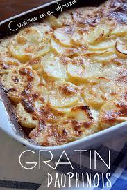 recette de cuisine alg駻ienne gratins gratin dauphinois traditionnel facile recettes faciles recettes