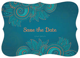 Designs For Invitation Card Easy To Use Save The Paisley Invitation Card Design Template