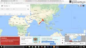 Google Timeline Maps Google Maps Timeline Hyperlapse Youtube