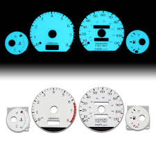 amazon com toyota corolla e100 white face dash cluster