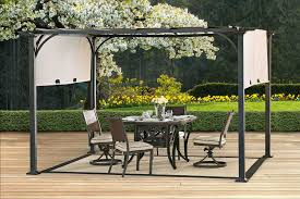 Steel Pergola With Canopy by Top 10 Best Canvas Gazebos