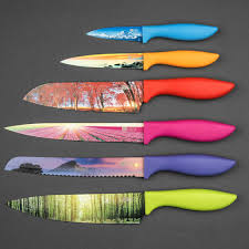 used kitchen knives for sale kitchen knife set in luxury gift box landscape series 6 piece